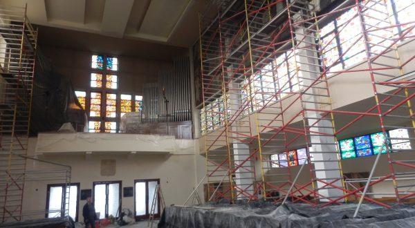 Malowanie kościoła [GALERIA]